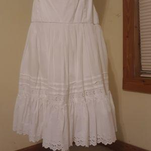Ralph Lauren eyelet skirt.